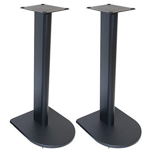 Fisual Dynami Uno Speaker Stands (Pair) (600mm, Matt Black)