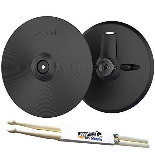 Roland VH-13 Hi-Hat für TD-50 + keepdrum Drumsticks 1 Paar