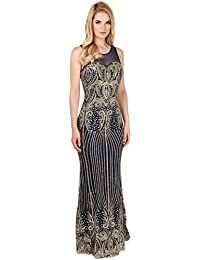 KRISP® Femmes Robes de Soirée Maxi Longue Elégantes en Mousseline Différents Modèles