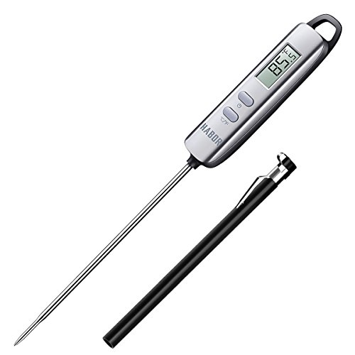 Habor Meat Cooking Thermometers, Habor Food Thermometer Digital,Candy Thermometers with Super Long Probe for Thanksgiving Day Turkey and Kitchen Units, Grill, BBQ, Food, Steak, Turkey, Candy, Milk