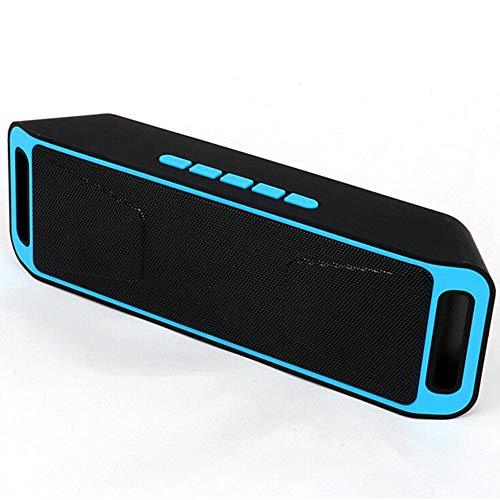 Tragbarer drahtloser Bluetooth-Lautsprecher | Mini-Lautsprecher Stereo-FM-Radio Eingebautes Mikrofon Kontrabass | Geeignet für Heim-, Outdoor- und Reiselautsprecher