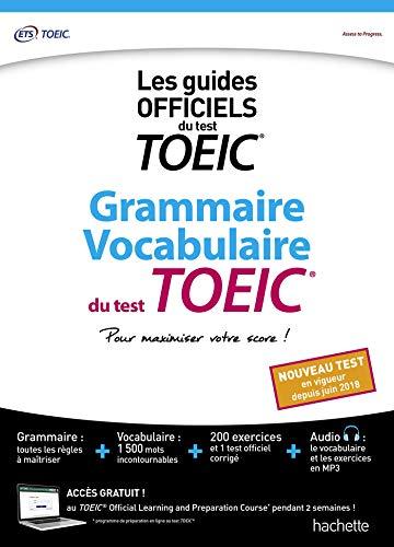 Grammaire Vocabulaire TOEIC® (conforme au nouveau test TOEIC® 2018) por ETS