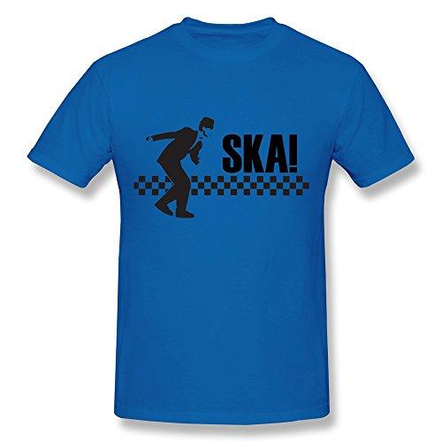 ren T-Shirt Gr. L, Schwarz - Königsblau ()