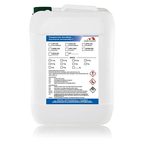 Home Profis® HPBG-300 Grundierung für Bodenbeschichtung (7,5m²) transparentes Epoxidharz Bodenversiegelung Bodendichtung Bodenbeschichtung Garagenboden Balkonboden Terrassenboden