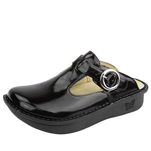Alegria Classic, Chaussures femme Black Waxy