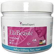 SanaExpert ElaBeauté Suplementos con colágeno, Q10, OPC, zinc y vitaminas, colágeno para