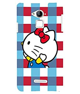 Citydreamz Hello Kitty\Cute Cartoon Hard Polycarbonate Designer Back Case Cover For CoolPad Note 3