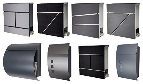 Design Briefkasten Anthrazit - 3