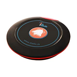 Rufsender APE700 Schwarz-Rot | Bestandteil des APE Ruf-Sets | Kompatibel mit alle APE-Serie Empfänger