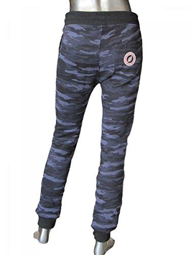 De Jogging Slim Pantalon Sweet Camouflage Bleu Print Mixte Pants Ado Kid E2ID9H