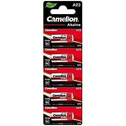 Camelion A23 Blister de 5 Piles Alcalines