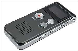 Mini Dictaphone et Enregistreur Vocal Rechargeable 4Go + Lecteur MP3 & Radio FM