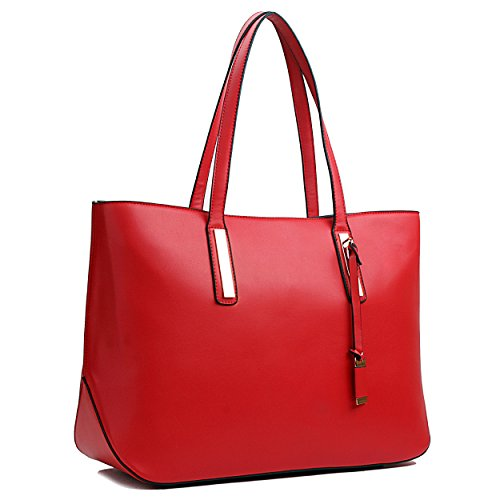 Miss Lulu , Cabas pour femme 1435 Red