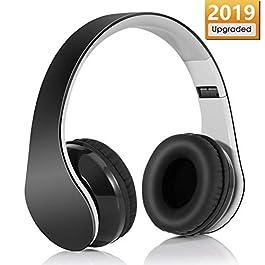 Cuffie Bluetooth 4.1 Headphones Wireless Pieghevole – Audio Stereo Hi-fi Microfono Incorporato con Jack Audio da 3.5 mm…