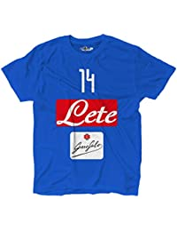 cb91249cdbf KiarenzaFD Maglietta T-Shirt Calcio Napoli Dries 14 Mertens Top Player  Bomber M Royal