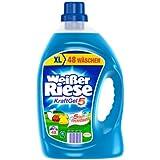 Weißer Riese Kraft Gel, Waschmittel, 96 WL, 2er Pack (2 x 48 WL)