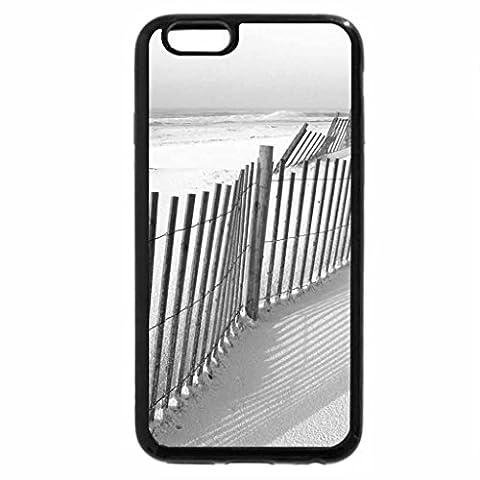 iPhone 6S Plus Case, iPhone 6 Plus Case (Black & White) - Tranquil Sand Dunes 2
