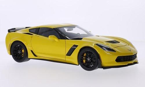 Chevrolet Corvette (C7) Z06, gelb, 2014, Modellauto, Fertigmodell, AUTOart 1:18