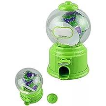 Juguetes educativos,Internet Clásico Vintage Doble Burbuja Chicle Machine Alcancía Caramelos Dispensador De Goma Juguetes