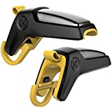 kmnic Yellow Gun Shape PUBG Trigger Mobile Gaming Controller Button triggers for All Smartphones (1 Pair)