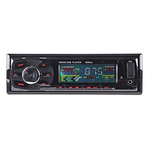 Koly Radio estéreo del coche en el tablero de MP3 receptor de entrada del reproductor de música FM USB SD AUX