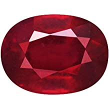 The Leading Light 8.50 ratti Natural Ruby(manik) AAA+ Quality Beautiful Gemstone Certified from Institute of Diamond Trade(IDT) New Delhi India.