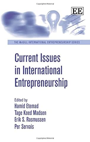 Current Issues in International Entrepreneurship