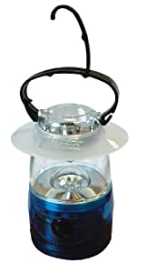 High Peak LED Camping-Laterne, blau, 12.5 x 12.5 x 16.5 cm, 41497