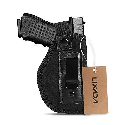 e Portable Leichte Jagd Shooting Gear Halter Tasche Rechts und Links Universal 6.1 Zoll Verdeckte Trage mit Clip ()