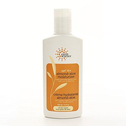 Mandel-Aloe Moisturizer SPF 15+, 5 Flüssigunzen (150 ml) - Geowissenschaften - Anzahl 1