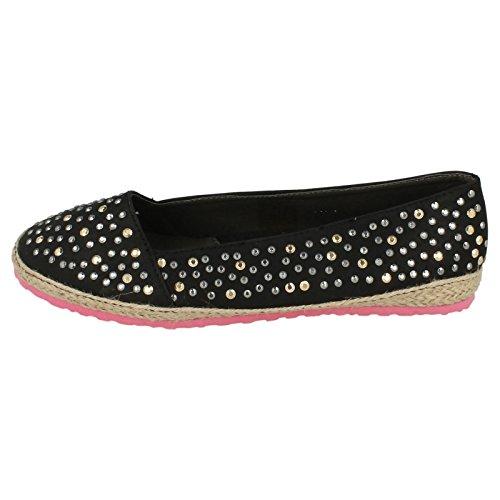Spot en à-plats pour chaussures-Ballerine Noir - noir