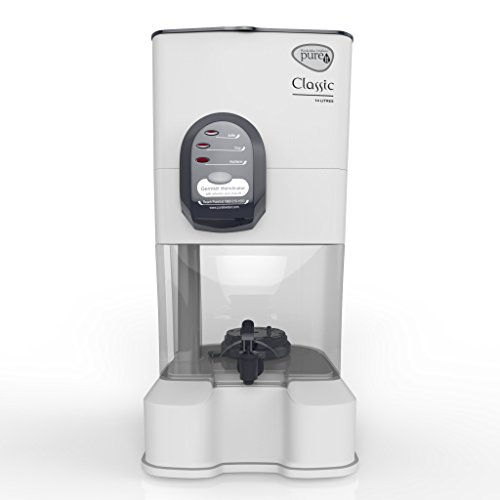 Pureit Hul Classic 14-Litre Gravity Water Purifier (White)