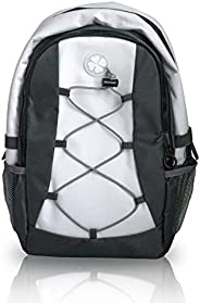Soft White Sports Cooler Backpack - Small Insulated Leak Proof Bag - Golf Cart Beverage Cooler - Also Ideal fo