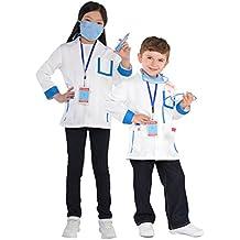 Traje médico Kit niños vestido de lujo Hospital cirujano uniforme niños niñas niños