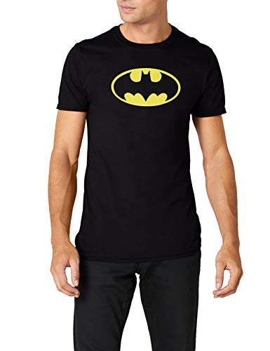en T-Shirt BATMAN-LOGO, Gr. Small, Schwarz ()