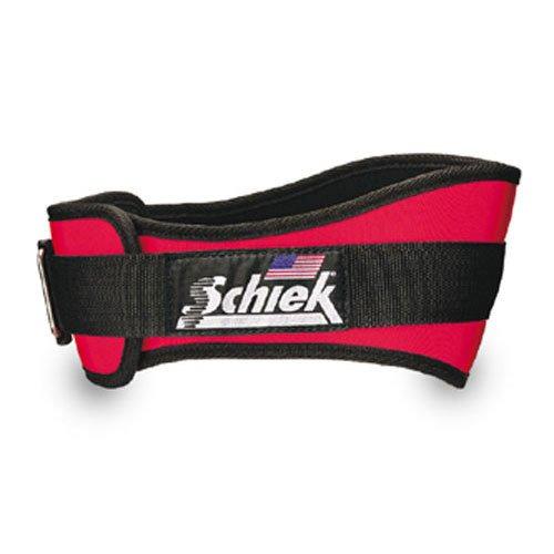 Preisvergleich Produktbild Schiek - Gürtel aus Neopren- 2006 - XL Extra Gross,  Rot
