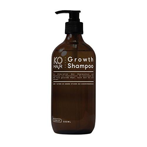 KÖ-HAIR Growth Shampoo für verbessertes Haarwachstum und schöne volle gesunde Haare, 250 ml oder 500 ml Größe 500 ml Größe 250ml