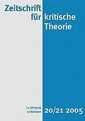 Zeitschrift für kritische Theorie: BD 20/21
