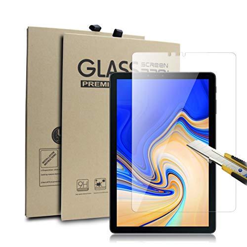 Supremery Display Glas Folie für Samsung Galaxy Tab S4 10.5 Zoll T830/ T835 Schutzfolie Bildschirmschutz Extra Hart gegen Kratzer & Stürze - Blasenfrei HD Clear (Premium Qualität)