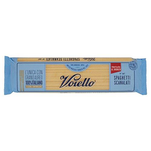 Voiello Pasta Spaghetti Scanalati, Pasta Lunga di Semola Grano Aureo 100%, Specialità Napoletane - 500 gr