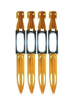 Zeltheringe mit LED