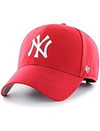 '47 Brand MLB New York Yankees MVP Gorra, Unisex Adulto, Rojo, Talla única