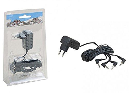 Lichthaus Winterwelt Adapter Netzstecker für Straßenlaternen und Winterszenen (4 Anschlüsse)