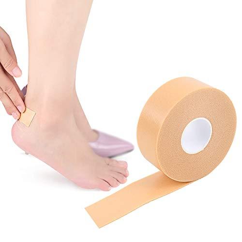 NiceButy Moleskin für Feet - Moore Haut Bandage Rolle mit Extra-Vorlage Schwerer Stoff Filling Band Schuhen Friction Körperpflege -