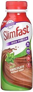 SlimFast Banana Shake Multipack Bottle, 325 ml - Pack of 6