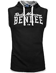 BENLEE Men Sleeveless Hooded T-Shirt EPPERSON - Black