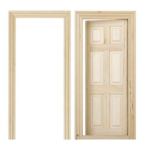 puertas-de-madera-de-casa-de-munecas-sodialr-1-12-puertas-de-madera-interiores-de-6-paneles-de-color