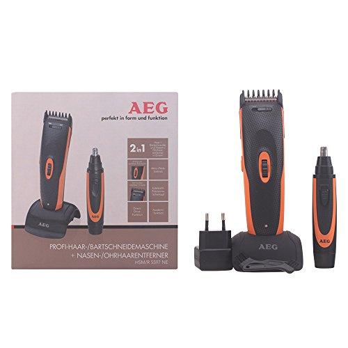 AEG HSM/R 5597 - Cortapelos y cortadora de vello para nariz