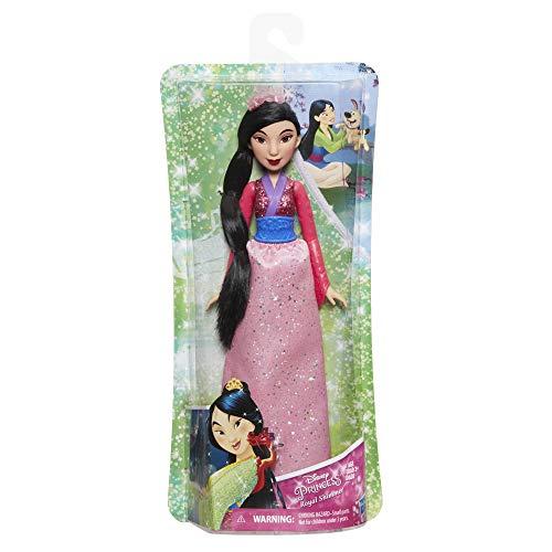 Hasbro E4167ES2 - Disney Prinzessin, Schimmerglanz Mulan, Puppe - Disney Prinzessin Mulan