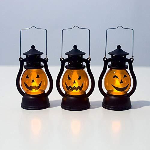 Dekorationen LED Nachtlicht, Retro Lampen Ornamente Lampen für Halloween Weihnachten Tisch Wand Schlafzimmer Home Dekorationen ()